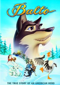 In this family-friendly animated film, Balto, who is half wolf and half dog, endures the taunts of disapproving humans and the evil canine pack leader Steele as he guides a precious cargo of medicine through the Alaskan winter.