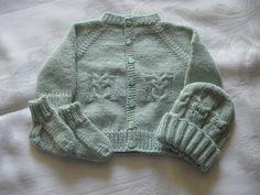 Little Owl Sweater Set Pattern