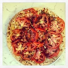 Pizza made OUTSIDE t