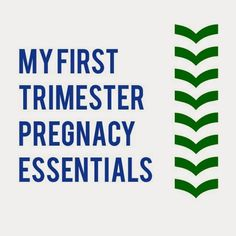 bybmg: My First Trimester Essentials & GIVEAWAY