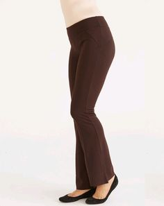 Ruby Ribbon Slim Leg Ponte in a color you've been waiting for..  Mink Brown is perfect for all seasons at work and at play.  With a flat or a heel.  Comes in sizes XS-XXXL www.rubyribbon.com/MarieStreet