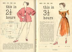 Vintage Chic: Quick & Easy Summer Wardrobe Patterns [1948]