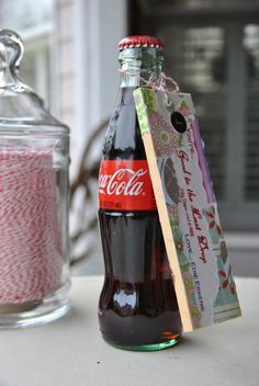 Coca-Cola, you're good to the last drop (when you're served in a glass bottle). The Last Drop, Last Day Of School, School Gifts, Teacher Appreciation, Coke, Glass Bottles, Teacher Gifts, Coca Cola, Valentine Day Gifts