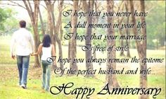 Happy Anniversary Wishes For Couple