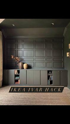 kinandkasa on Instagram: IKEA IVAR HACK!✨ 🔨 DIY built-ins for home office 🔨 Full details saved in highlights. • • • #ikeahack #ikeaivar #ikeabuiltinhack…