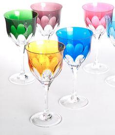 Copas de cristal.