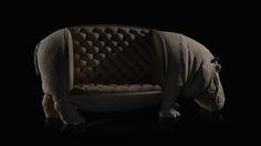 FRACTAL estudio + arquitectura: Animal Chair Collection