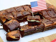 Recette Brownie marbré façon cheesecake, par AmandineCooking - Ptitchef