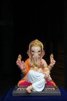 Make this Ganesha Chathurthi 2020 special with rituals and ceremonies. Lord Ganesha is a powerful god that removes Hurdles, grants Wealth, Knowledge & Wisdom. Shri Ganesh Images, Sri Ganesh, Ganesh Lord, Ganesha Pictures, Ganpati Bappa Photo, Om Gam Ganapataye Namaha, Ganesh Bhagwan, Ganpati Bappa Wallpapers, Ganesh Idol