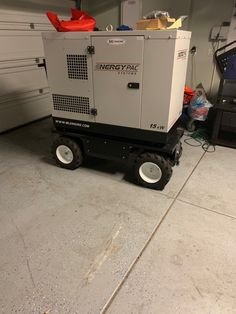 Do you have bulky heavy equipment that you find hard to move around? Take a look at this generator going portable on our pallet truck. Ideal for moving a power supply easily at public events or situations where power has been interupted. Electric Utility, Heavy Equipment, Apocalypse, Workplace, Pugs, Pallet, Public, Platform, Trucks