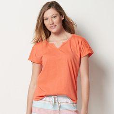 a2111d738 SONOMA Goods for Life Women's SONOMA Goods for LifeTM Pajamas: Notch Neck  Tee Sonoma Goods