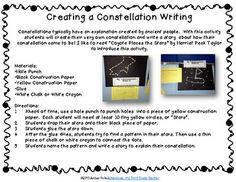 3rd Grade Solar System study writing activity