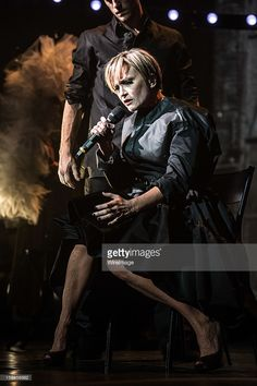 Patricia Kaas performs at Le Trianon on November 15, 2012 in Paris, France.