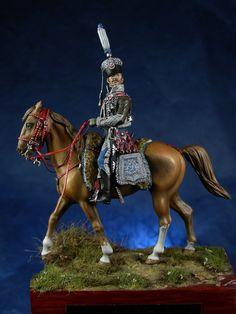 Napoleonic figures | planetFigure |  colonel Barbier 2° hussars 1800