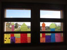 Orientalische Fensterdeko im Kindergarten Märlimuus: Februar 2014