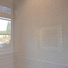 Shower accent wall