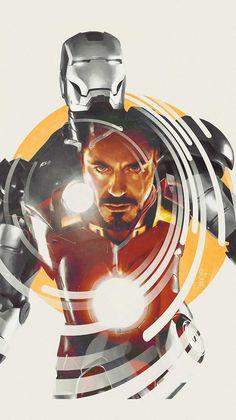 Iron Man Tony Stark Art IPhone Wallpaper - IPhone Wallpapers
