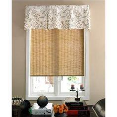 bedroom window valance idea. @Bevvvvverly Brackett  I think maybe just something simple like this style.