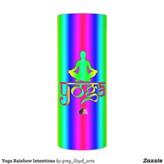 Yoga Rainbow Intentions LED Candle. This Rainbow Intentions LED Candle will be perfect as a Drishti. Illuminate your practice and be transformed by the beauty of the rainbow. As you move through your asanas your spirit will become as one with your intention, thus you achieve true enlightenment. This LED candle is available in 3 different sizes. Over 3000 products at my Zazzle online store. Open 24/7 World wide! http://www.zazzle.com/greg_lloyd_arts*?rf=238198296477835081