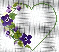Сердечки /  / Схемы вышивки крестом Cross Stitch Owl, Cross Stitch Cards, Beaded Cross Stitch, Cross Stitch Flowers, Cross Stitching, Cross Stitch Embroidery, Embroidery Patterns, Wedding Cross Stitch Patterns, Cross Stitch Designs