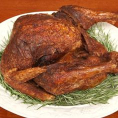 Image for Deep-Fried Turkey with Herbs