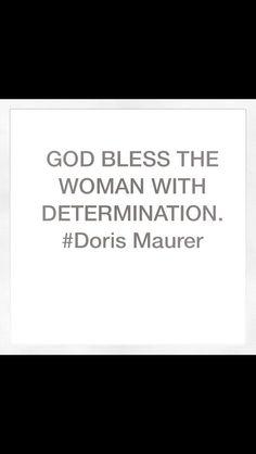 #DorisMaurer