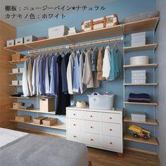 寝室クローゼットプラン