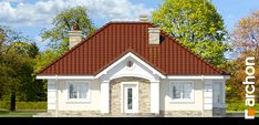 Dom w lotosach 2 Bungalow House Design, Home Fashion, Ideas Para, Garage Doors, Dining, House Styles, Outdoor Decor, Houses, Home Decor