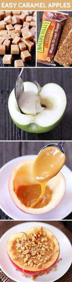 Pommes avec Caramel