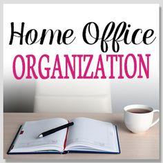 Home Office organization posts on Organize 365
