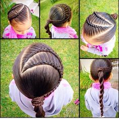 Hair style for little girls Women, Men and Kids Outfit Ideas on our website at 7ootd.com #ootd #7ootd