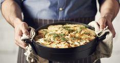 Széll Tamás, rakott burgonya Lidl, Kung Pao Chicken, Paella, Ethnic Recipes, Thesis, Food, Grill Party, Essen, Yemek