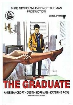 Films with fashion influence - 1967 The Graduate poster