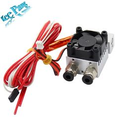 Buy online US $16.06  2 in 1 out J-Head Single Head Double Color Remote Extruder Hot End Mix Extrusion 3D Printers Parts All Metal Heat Sink Fan Part  #JHead #Single #Head #Double #Color #Remote #Extruder #Extrusion #Printers #Parts #Metal #Heat #Sink #Part  #BlackFriday