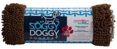 Soggy Doggy Chocolate/Oatmeal Doormat Large 26x36