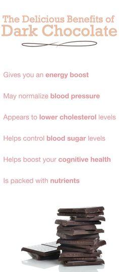 Benefits of Dark #Chocolate