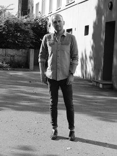 Shirt: Anerkjendt Jeans: edwin Jeans  Shoes: Hudson Watch: Bering