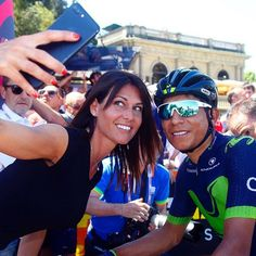source instagram movistar_team #VamosNairo #Giro100 @bettiniphoto movistar_team 2017/05/18 01:02:59