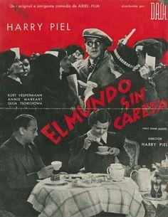 """El mundo sin careta (1934) """"Die Welt ohne Maske"""" de Harry Piel - tt0025968"""