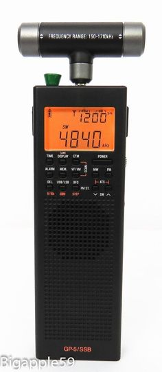 County Comm GP-5/SSB Handheld AM FM SW Radio Receiver DSP RECEPTION IN YOUR HAND #CountyComm