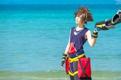Soriku sora: me riku: ryuichi Kingdom Hearts Cosplay, Sora Kingdom Hearts, Best Cosplay, Awesome Cosplay, Walt Disney Pictures, End Of The World, Cos Play, Animation, Fantasy