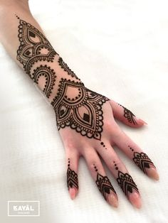 Henna tattoo sleeve ~ own design ~ by Ḵayāl henna studio. Instagram & Facebook: @kayalhennastudio
