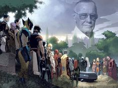 Una nueva aventura empieza. Gracias por tanta Genialidad, gracias por enseñarnos que todos podemos ser un superhéore. El Universo ganó otro Vengador. En Paz Descanse Sr. Stan Lee. #StanLeeForever