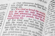 I love this quote of scripture, and I also love the very next one 17: For God sent not his son to Condemn the world, but that the world through him might be saved!