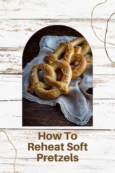 Pretzels Recipe, Canned Heat, Pastry Brushes, Soft Pretzels, Recipe Please, Drink, Cooking, Recipes