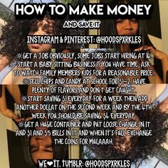 Money Saving Tips and Hacks – Finance tips, saving money, budgeting planner Making Money Teens, Jobs For Teens, Teen Jobs, Ways To Get Money, Teen Money, Life Hacks For School, School Goals, Hoe Tips, Glow Up Tips