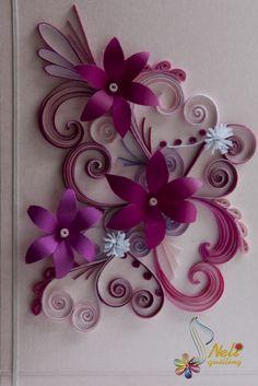 http://nelika-neli.blogspot.com.br/2012/02/quilling-cards-flowers.html