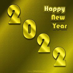 Free Golden New Year Background 2022