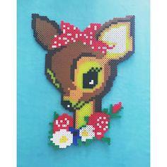 Deer perler beads by ohsewnostalgic