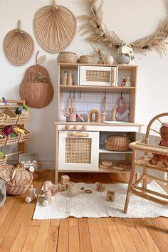 Baby Playroom, Playroom Decor, Baby Nursery Decor, Ikea Decor, Ikea Kids Kitchen, Toy Rooms, Childrens Room Decor, Kids Room Design, Big Girl Rooms